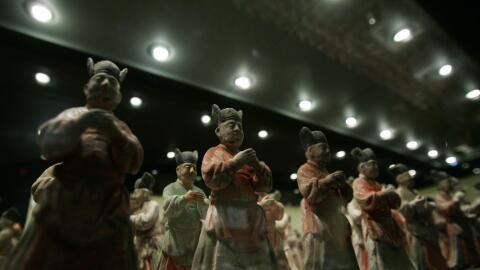Los Guerreros de Xian son patrimonio cultural de la humanidad.