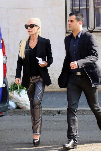 La famosa diseñadora de modas está obsesionada con su figu...