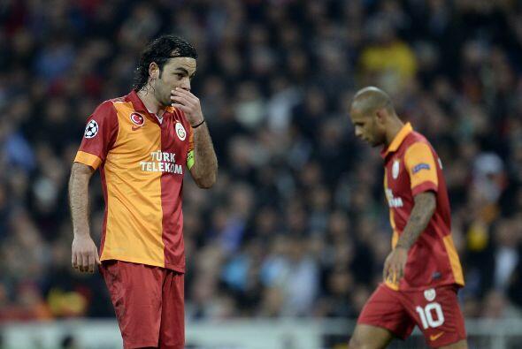 Al final el Galatasaray se fue con tres goles difíciles de remontar.