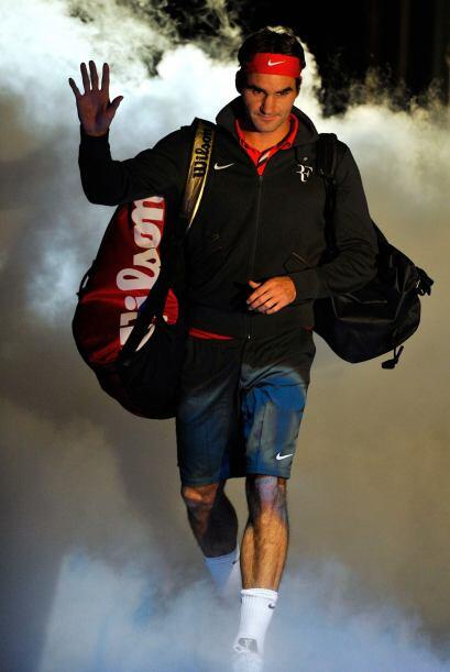 Federer llega al Masters1000 de Montreal celebrando a lo grande y se enf...