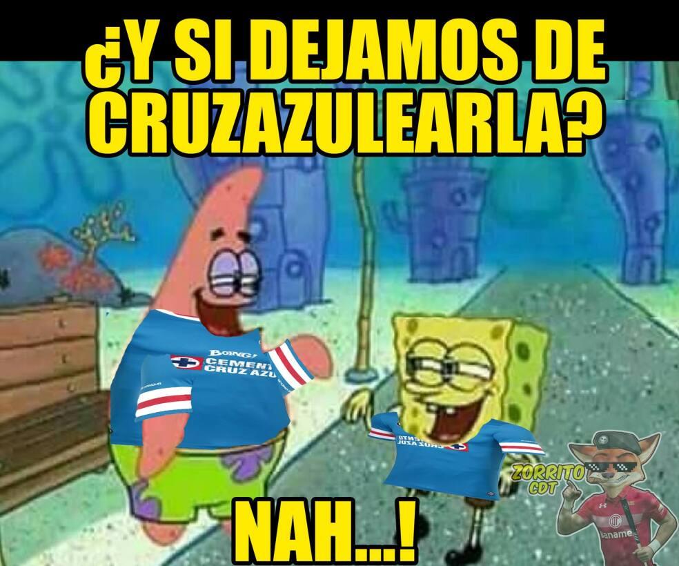 Como cada semana, Cruz Azul fue protagonista de las burlas tras su empat...