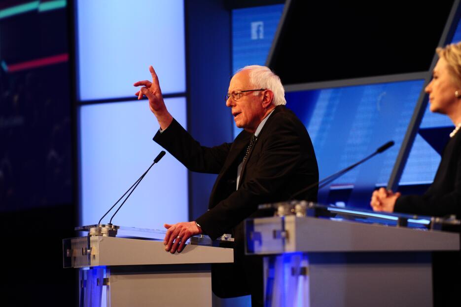 El resumen del debate demócrata en imágenes PHL_0045.JPG