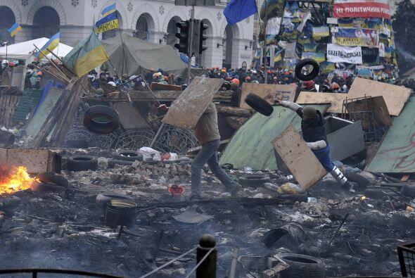 El 22 de enero dos manifestantes mueren después de ser baleados y...