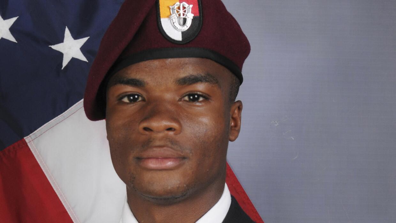 El sargento La David Johnson murió en una emboscada de Estado Islámico e...