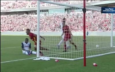 Joao Plata acierta frente al arco y marca el 1-0 del Real Salt Lake