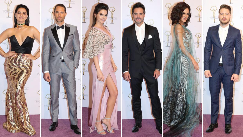 La alfombra morada de los 39 premios tvynovelas 2017 - Alfombra morada ...