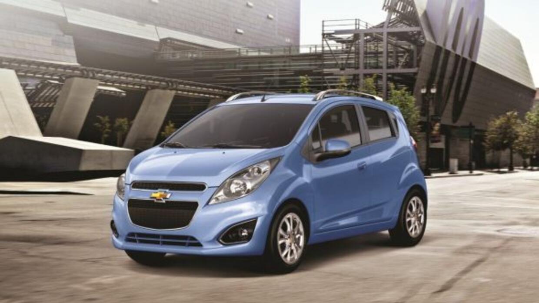 El Spark es uno de los modelos de entrada a la familia General Motors.