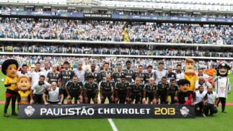 Corinthians se proclamó campeón del Campeonato Paulista al empatar 1-1 c...