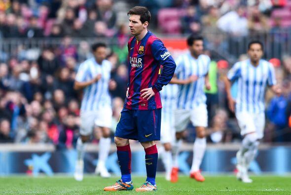 Pero la fecha 24 supuso una alarma para el Barcelona pues el equipo de L...