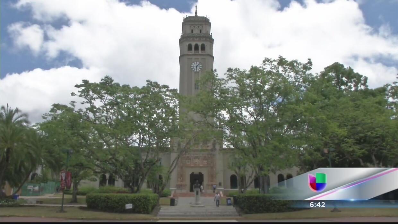 Torre de la Universidad de Puerto Rico, recinto de Río Piedras