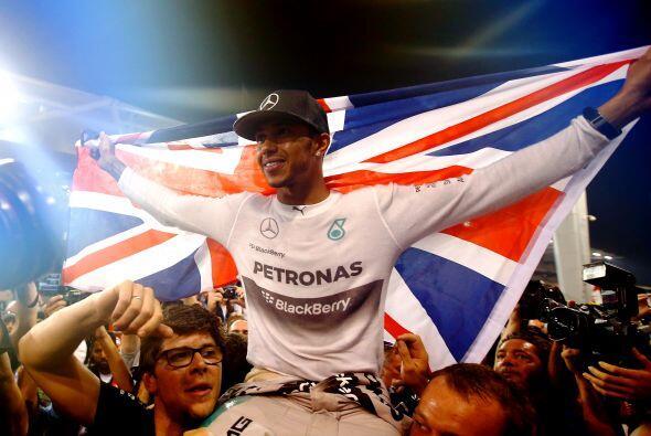 Noviembre 23 - Lewis Hamilton fue el más veloz de la Fórmula 1. El pilot...