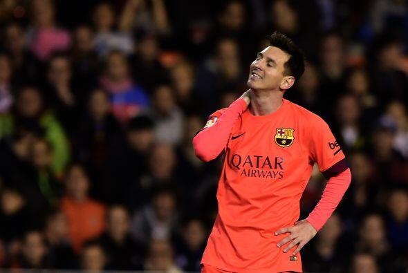 Lio Messi sigue rompiendo récords y nadie puede cuestionar su cal...