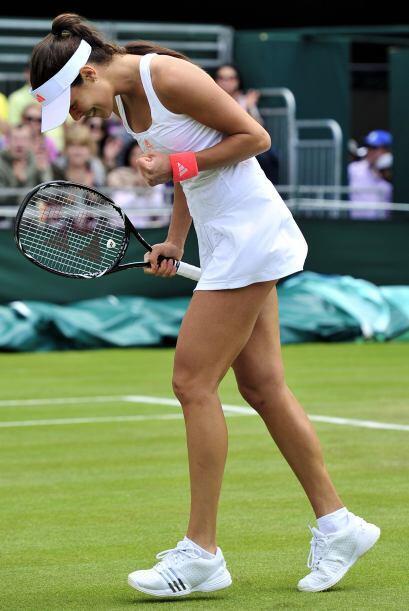 La hermosura de la serbia Ana Ivanovic atrae las miradas de los fanático...