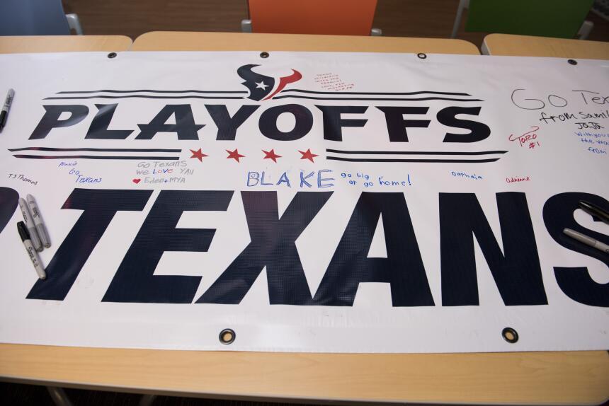 Houston Texans visitaron hospital infantil