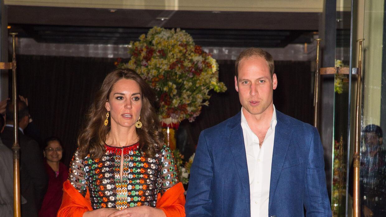 Así vistió la duquesa en la cena en el Taj Tashi con el rey  Jigme Khesa...
