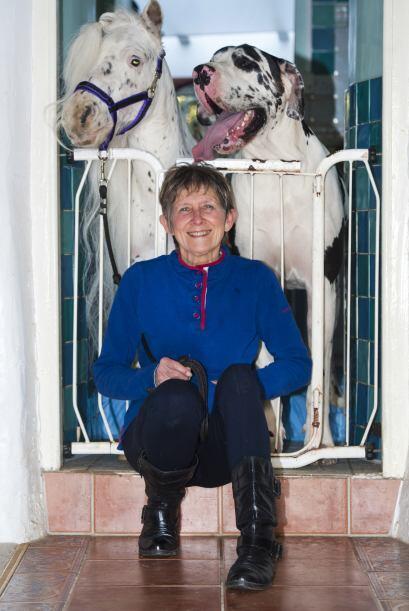 Estos dos animales se conocieron cuando Ronnie Jones los llevó a su casa...