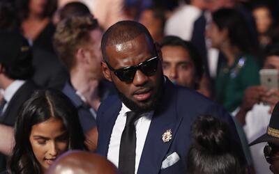 LeBron James en una gala en octubre en Las Vegas.