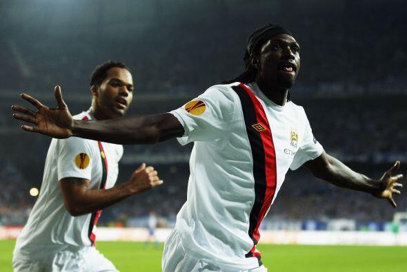 Más tarde Emmanuel Adebayor puso el tanto del empate temporal.
