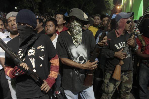 La exigencia de los grupos de autodefensa es abatir de raíz el problema...