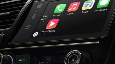 CarPlay es la forma más inteligente y segura de usar iPhone en el auto.
