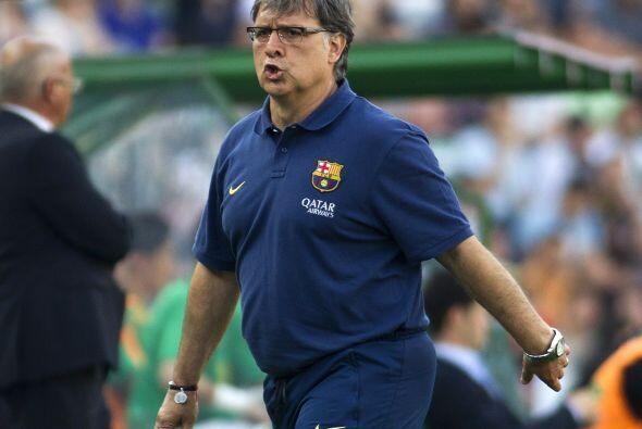 Gerardo Martino, técnico de los 'culés', no soportaba la falta de gol en...
