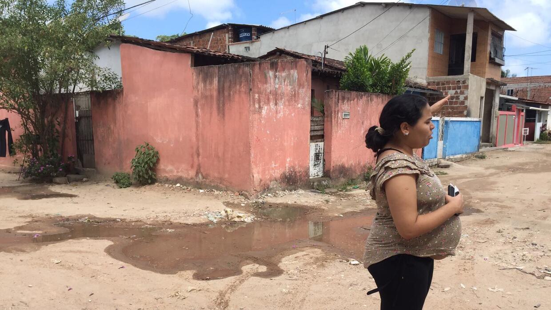 Las madres embarazadas de la periferia de Recife se quejan de las condic...