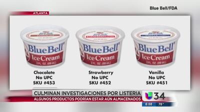 Investigan virus de listeria en helados