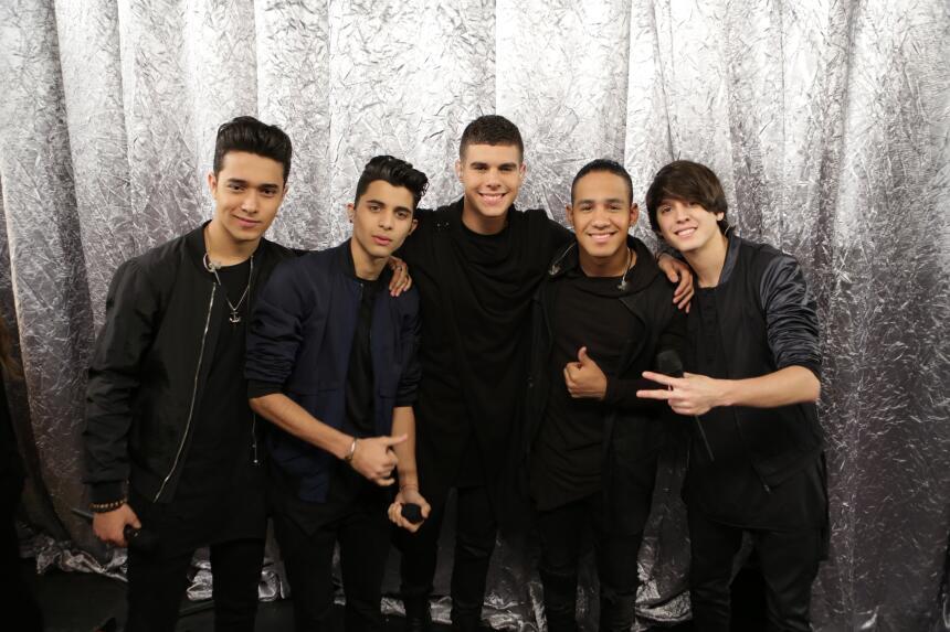 Christopher, Zabdiel, Erick, Richard y Joel regresaron a Univision como...