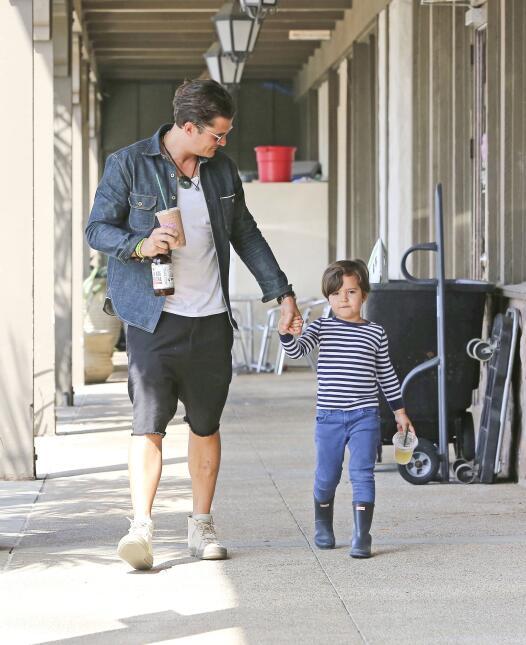 Orlando Bloom con Flynn