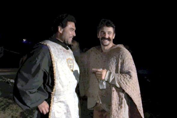 ¿Qué tal se ven los dos actores con sus disfraces?