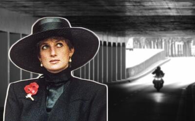 Diana Spencer entró sonriente y con vida al túnel del Alma, en París, de...