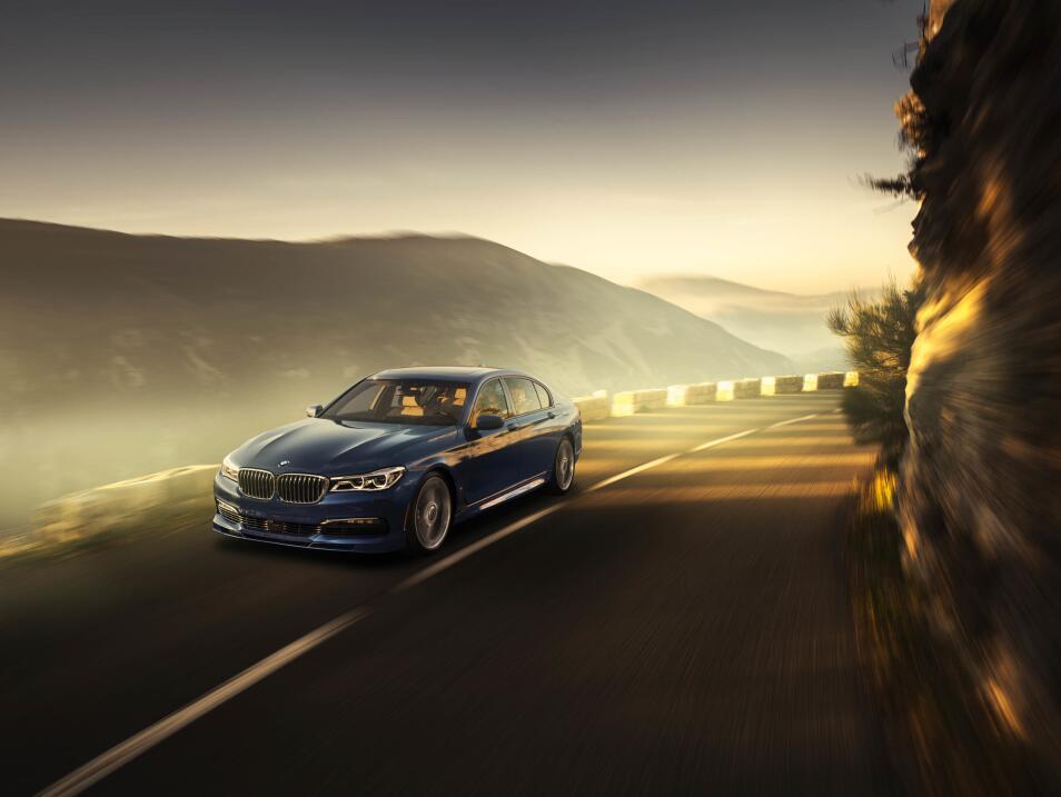 BWM Alpina B7 xDrive 2017 será presentado en el próximo Auto Show de Gin...