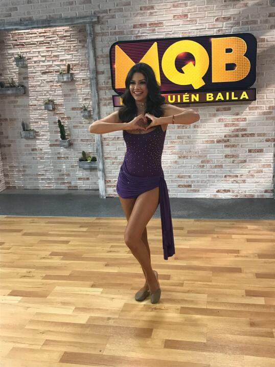 Ana Patricia Mira Quién Baila 9