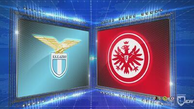 Lazio 1-2 Frankfurt - GOLES Y RESUMEN - Grupo H - UEFA Europa League