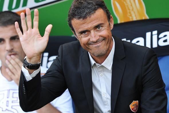 El técnico español Luis Enrique esperaba lograr un triunfo que vaya que...