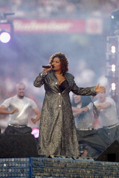 Queen Latifah también estuvo presente en este gran show.
