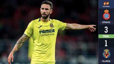 Con Miguel Layún todo el partido, Villarreal cayó ante el Espanyol