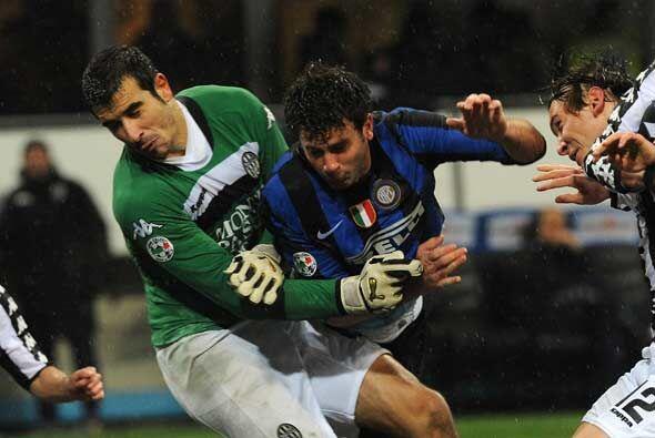 El Inter nunca se rindió y luchó con todo para quedarse con la victoria...