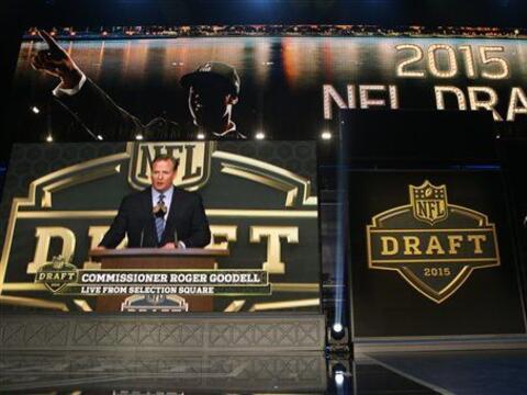 Así arrancaba el Draft 2015 de la NFL desde Chicago (AP-NFL).