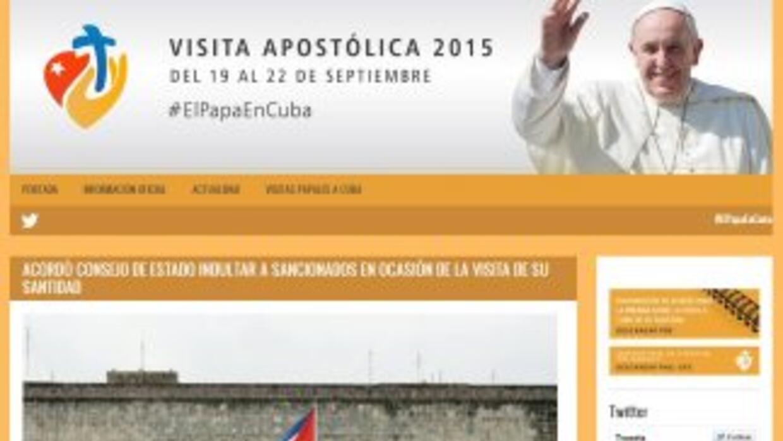Portal sobre la visita del Papa a Cuba