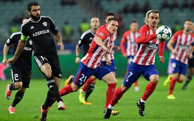 Qarabag vs. Atlético de Madrid
