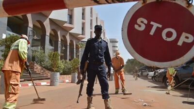 Hotel Radisson en Mali, donde hubo el secuestro y ataque de yihadistas