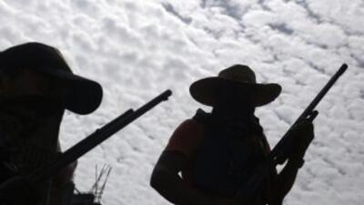 Un enfrentamiento entre presuntos delincuentes en Zihuatanejo, Guerrero,...