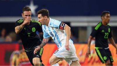 México 2-2 Argentina: Amargo empate para el Tri ante Argentina