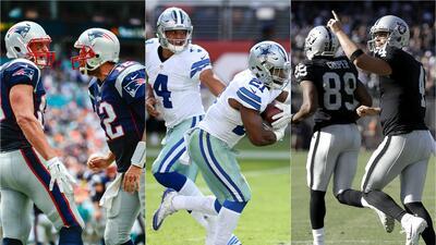 Contendientes al Super Bowl LI | Cowboys, Patriots y Raiders, favoritos