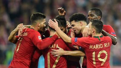 En fotos: Portugal es una máquina en su visita a Polonia sin CR7 en UEFA Nations League