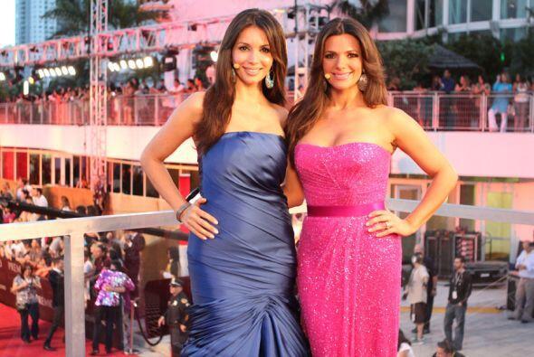 Giselle Blondet y Bárbara Bermudo nos dieron una clase de eleganc...
