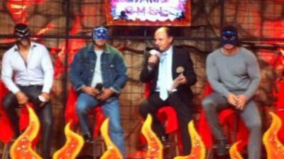 Blue Panther heredó el nombre a sus hijos (Foto: CMLL).