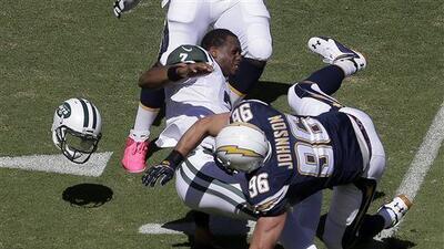 Una pesadilla para el QB de los Jets el juego de la Semana 5 (AP-NFL).