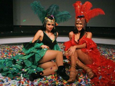 Una noche de carnaval parece que vivieron Mi vida y la 9